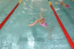 Zawody pływackie klas III szkół podstawowych
