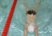 Zawody pływackie klas trzecich giżyckich szkół podstawowych